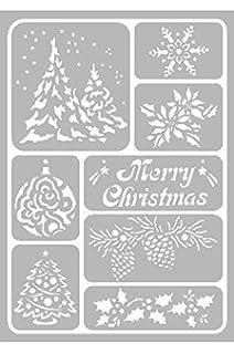 Generique Schneespray Für Weihnachten Mit Schablonen Amazonde