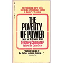 The Poverty of Power Energy and the Economic Crisis