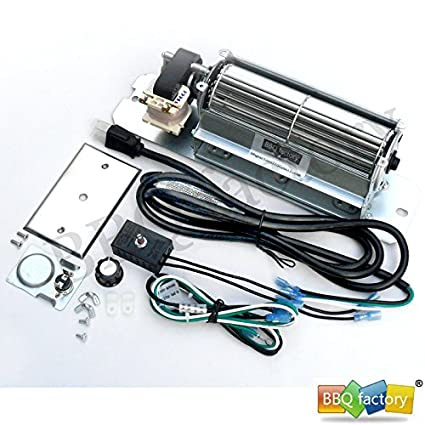 Amazon.com: bbq factory® GZ550 Replacement Fireplace Blower Fan KIT on