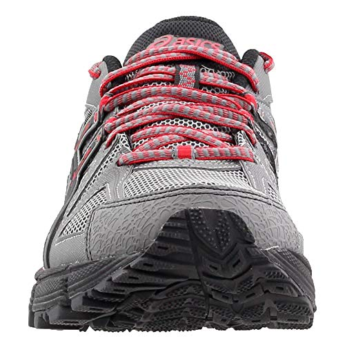 ASICS Men's Gel-Kahana 8 Trail Runner Shark/Black/True Red 7 M US by ASICS (Image #4)