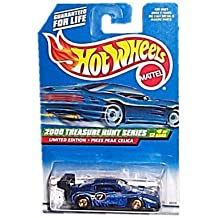 Hot Wheels - Limited Edition Treasure Hunt Series (2000) - Pikes Peak Celica (Metalflake Dark Blue) - #9 of 12 - Collector #057: 2000