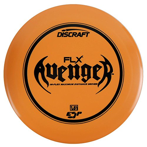 Discraft ESP FLX Avenger Distance Driver Golf Disc [Colors May Vary] - 173-174g
