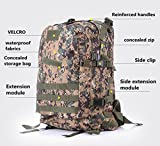 YX 3 Day Assault Backpack 3 Day Bug Out Bag Military Molle Daypack For Hunting Camping Outdoor Hiking Fishing Paintball Airsoft Bag 40L