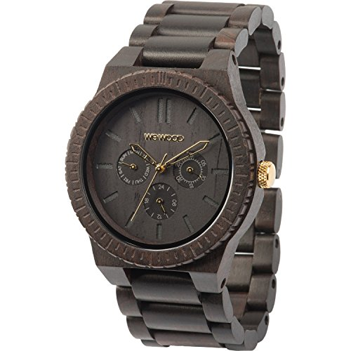 WeWood Kappa Black/Gold Wooden Watch