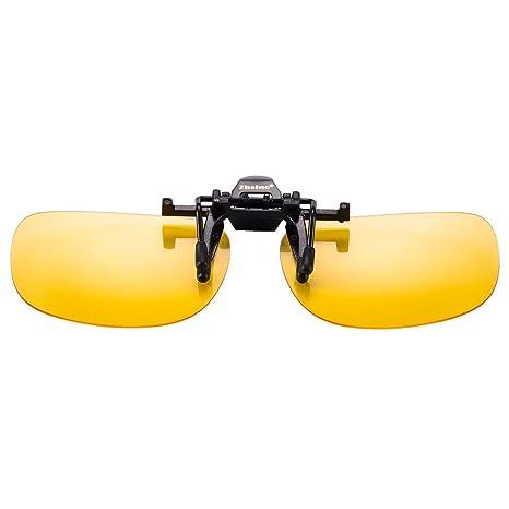Zheino 1909 Visión Nocturna de conducción Gafas de Sol polarizadas, con Clip Flip-up Gafas de Sol, UV400 Anti-Reflejo polarizado Gafas de Sol ...