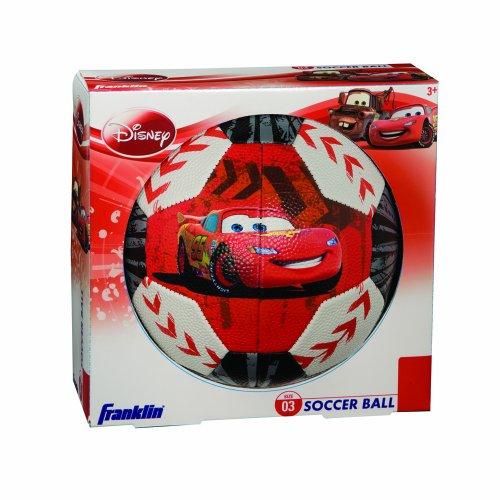 Franklin Sports 19230 Disney/Pixar Cars Soccer Ball Size