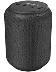 Bluetooth speakers, Tronsmart T6 Mini 15W Ultra Portable Speaker with 24 Hours Playtime, Good Bass, IPX6 Waterproof, Bluetooth 5.0, Wireless Stereo Pairing, Voice Assistant, Built-in Microphone