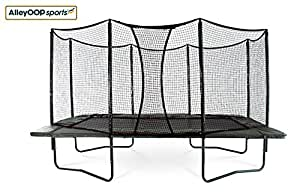 NEW AlleyOOP 10'x17' PowerBounce Rectangular Trampoline with Integrated Safety Enclosure