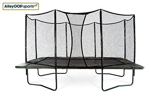 AlleyOOP PowerBounce 10'x17' Trampoline with Enclosure | ...
