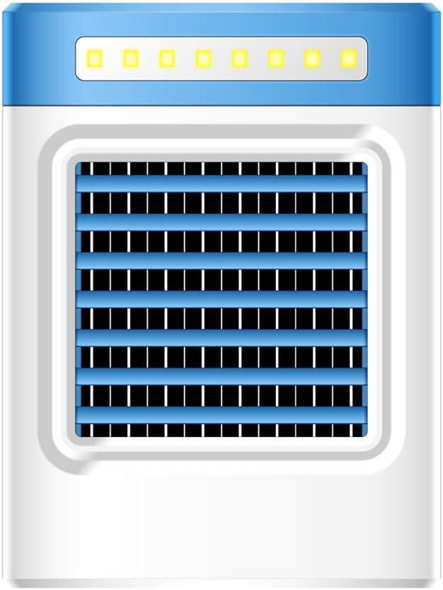 Climatizador evaporativo Nueva Carga S9 Mini Ventilador de Aire ...