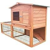 Bunny Business Kaninchenstall mit integriertem Laufbereich und Gehäuse Kaninchenställe hasenställen BF2Kaninchenstall