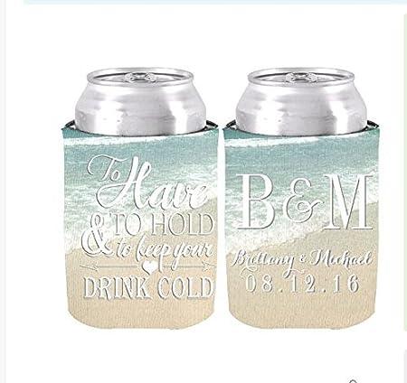 Set de 2 Have to Hold a mantener su bebida fría personalizado ...