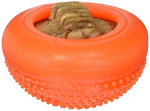 Starmark Everlasting Bento Ball, Orange, Large