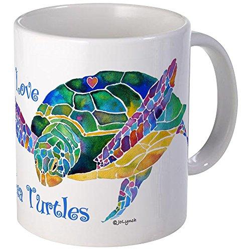 - CafePress I Love Sea Turtles 2 Mug Unique Coffee Mug, Coffee Cup