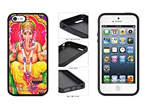 Colorful Ganesha TPU RUBBER SILICONE Phone Case Back Cover Apple iPhone 5 5s