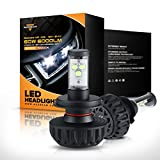 Auxbeam 88621857 NF-03 Series H4 LED Headlight Conversion Kit with 2 Piece of Headlight Bulbs CREE LED Chips HI-LO Beam, 40W, 4400 LM Low Beam & 60W 6000 LM High Beam