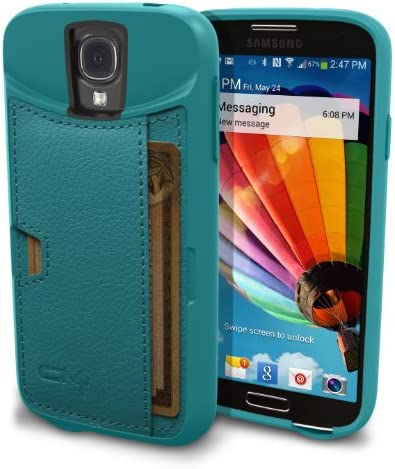Galaxy S4 Wallet Case Protective