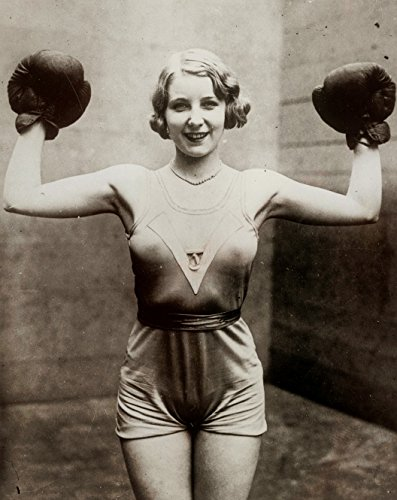 Sexy Female Boxer 1920s Photo Art Boxing Posters Artwork 11x14