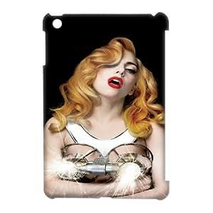 Lady Gaga HILDA018643 3D Art Print Design Phone Back Case Customized Hard Shell Protection Ipad Mini
