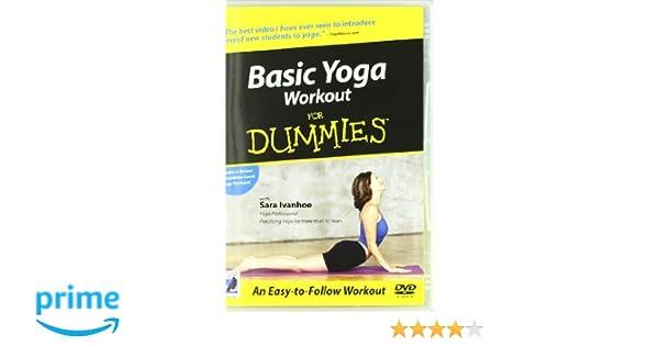 Basic Yoga Workout For Dummies [Reino Unido] [DVD]: Amazon ...