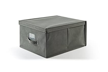 Più EasyBox Caja Funda TNT, Tela, Cenizas, 40.0 X 50.0 X 25.0 cm