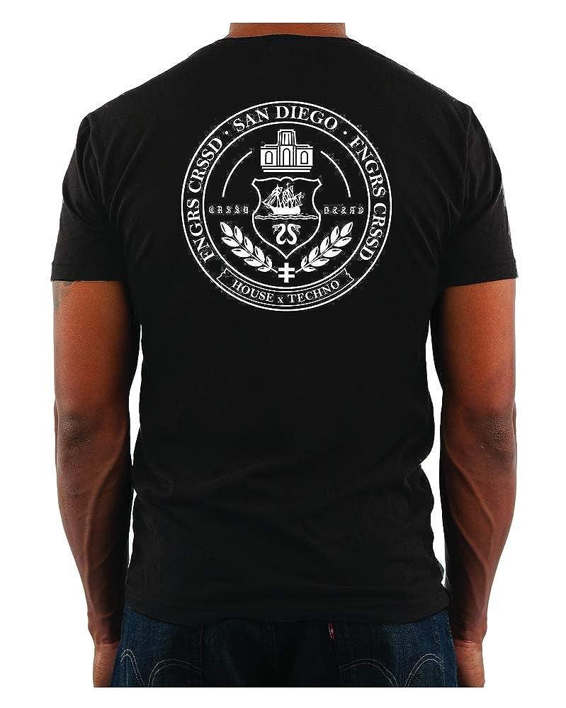 Fngrs Crssd Shortsleeve Seal Crew Black