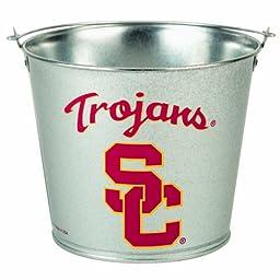 NCAA USC Trojans 5-Quart Galvanized Pail