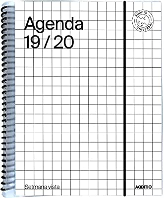 Agenda Universal catalán 2019-20 Semana Vista Additio ...