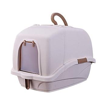 Amazon.com: Gfbyq - Caja de arena para mascotas, inodoro ...