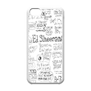 iPhone 5C Phone Case White Ed Sheeran WQ5RT7457909