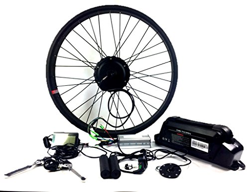 2018 48V 750W fat tire Electric bike conversion kit with battery and LCD display , Electric Bicycle Kits with Rear Wheel 48V 750W Hub Motor by NBPower