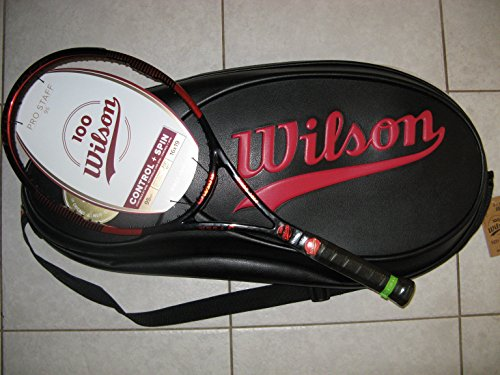 Wilson 100 Year Pro Staff 95 Tennis Racquet Package 4-3/8