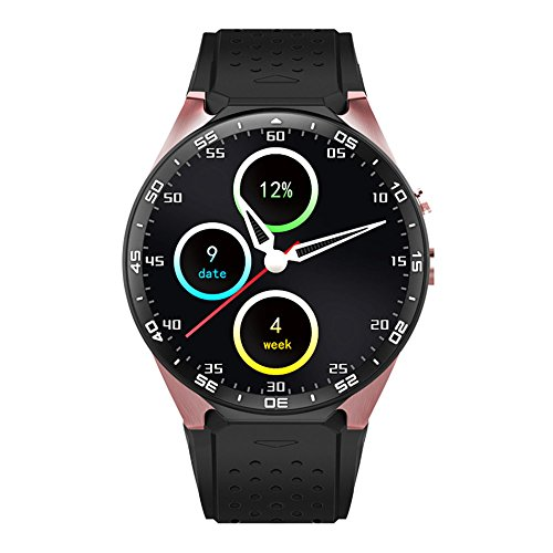 2 opinioni per LENCISE Latest Android 5.1 Smart Watch Phone MTK6580 CPU 1.39 Inch 400*400