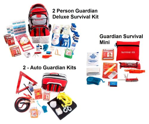 Guardian Survival 2 Person Guardian Preparedness Package by Guardian Survival Gear (Image #1)