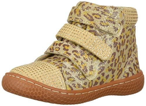 Livie & Luca Girls' Jamie Sneaker, Leopard Shimmer, 10 Medium US Toddler