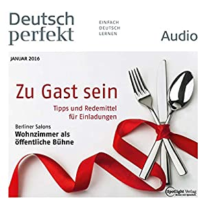 Deutsch perfekt Audio. 1/2016 Audiobook