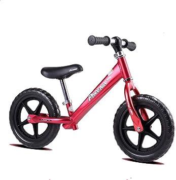 Felices juntos Bicicleta de Equilibrio for niña, Bicicleta de ...