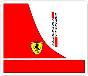 Jess-Sha Store 3 PCs Stickers Scuderia Ferrari Sticker for Laptop, Phone, Cars, Vinyl Funny Stickers Decal for Laptops, Guitar, Fridge