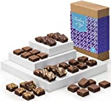 Fairytale Brownies Thinking of You Magic Morsel 36 Gourmet Chocolate Food Gift Basket for Sympathy Good Luck or All-Occasion - 1.5 Inch x 1.5 Inch Bite-Size Brownies - 36 Pieces - Item CT436