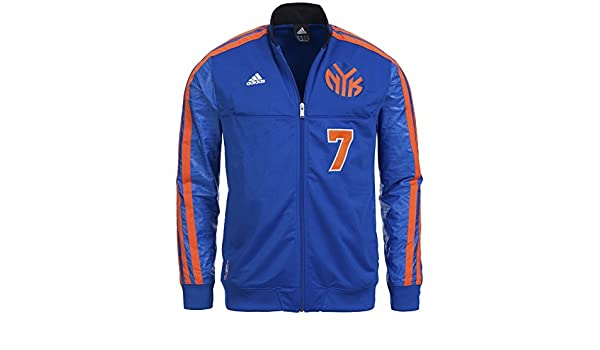 Adidas on Court Play Chaqueta NBA Lakers Knicks Heat Bulls, New York Knicks, Medium: Amazon.es: Deportes y aire libre