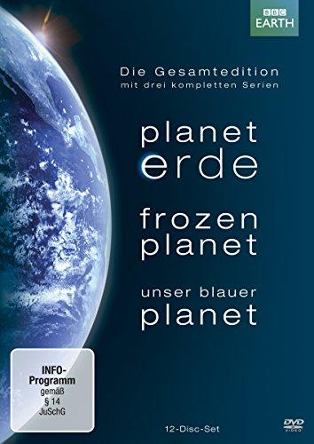 Planet Erde / Frozen Planet / Unser Blauer Planet - Die Gesamtedition mit drei kompletten Serien (Erde Blauer Planet)