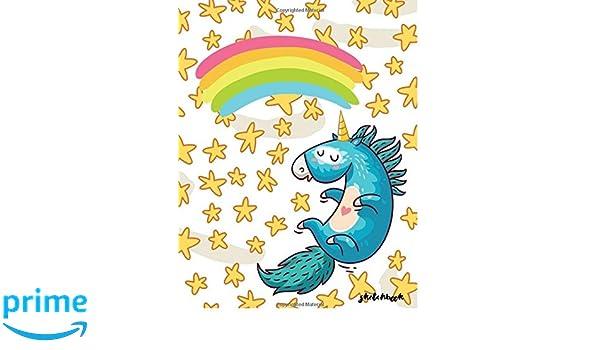 Sketchbook Sketchbook Cute Unicorn Kawaii Sketchbook For Kids Boys