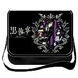 Siawasey Black Butler Anime Cosplay Cross-body Handbag Backpack Messenger Bag Shoulder Bag