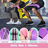 FRETREE Resistance Bands for Legs and Butt - Non