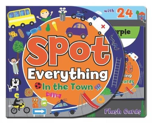 Spot Everything Book - Town: Spot Everything with Flash Cards Brian Close