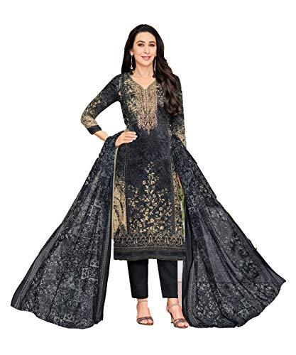 (itsindiancrafty Indian Women Designer Partywear Ethnic Traditonal Black Salwar Kameez. )
