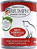 Cheap Triumph Beef Canned Cat Food, Case Of 12, 13 Oz.
