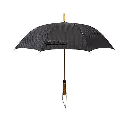 XnZLXS-paraguas viajes Sombrilla semiautomática de manija Larga Sombrilla de Golf de Gran Tamaño Impermeable
