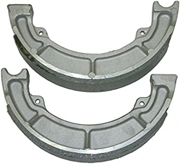 250 Rear Brake Shoes for Kawasaki ATV: Bayou 185 220 300 2x4