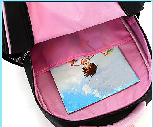 6c8fec5e9398 Meetbelify Rolling Backpacks for Girls School Bags Trolley Handbag with  Lunch Bag Two Wheels Red